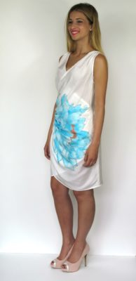 silk dress for summer